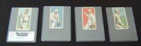 146: Four T-206 Piedmont Baseball 350 Series Cards
