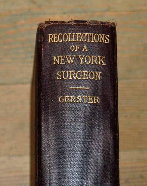 1: Arpad Gerster's autobiography