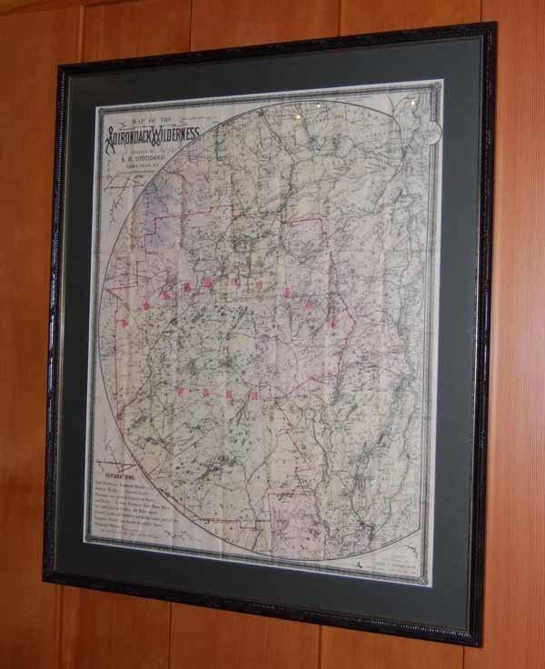 17: Stoddard Map of the Adirondacks
