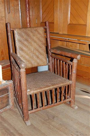 76 Old Hickory Chair Rocker