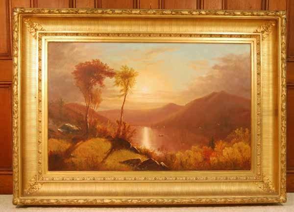 100: Clinton Loveridge Oil Painting