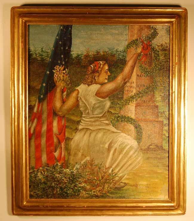 1: Otto Spiel Oil on Canvas
