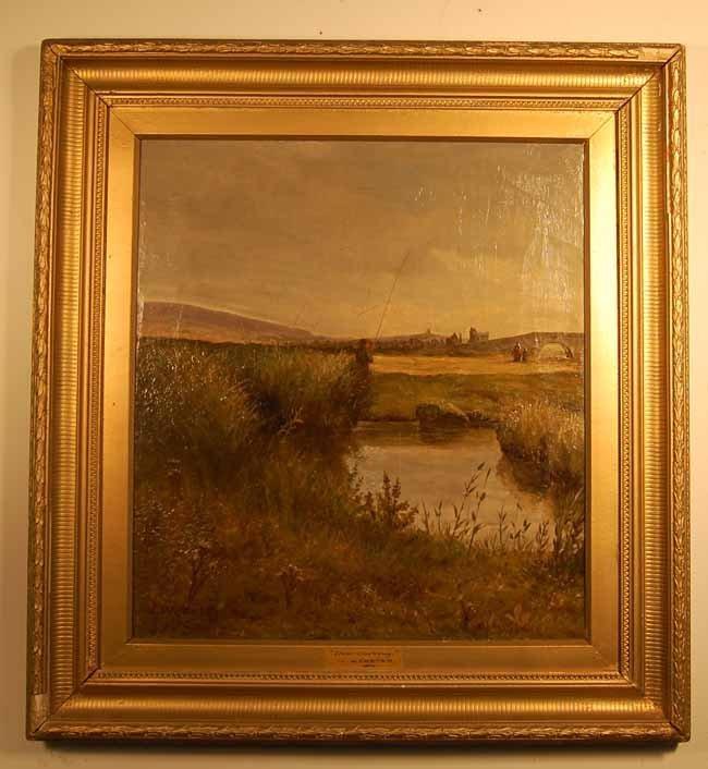 6: J. Webster Oil on Canvas