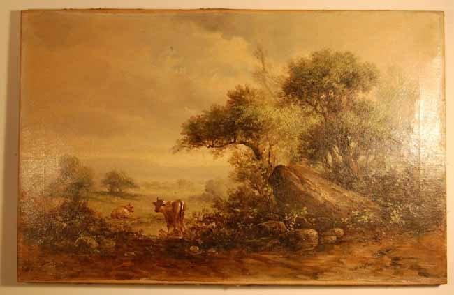 8: W. Schaffner Oil on Canvas