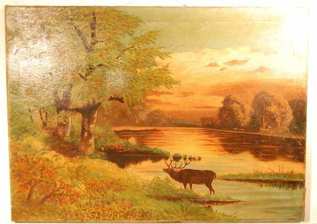 9: Forest Jones Oil on Canvas
