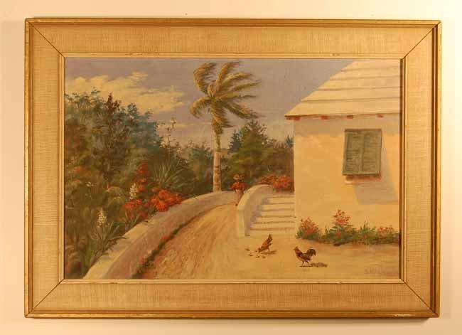 13: S. Kingman Oil on Canvas