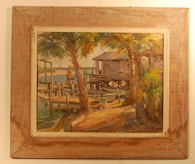 14: John Thomason Oil on Artist Board