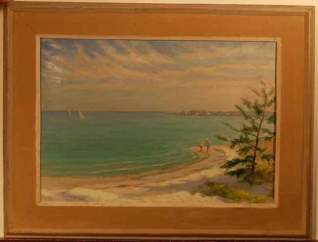 15: John Thomason Oil on Artist Board