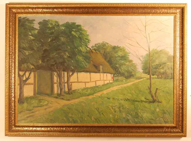 16: Artist Signed Oil on Canvas
