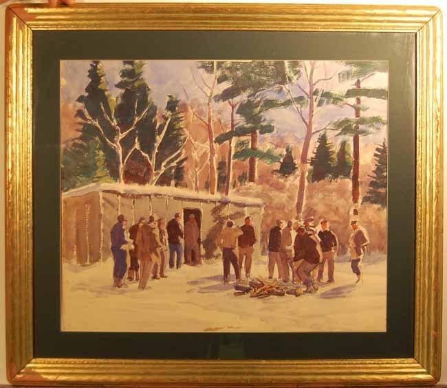 17: Ralph W Gray Watercolor