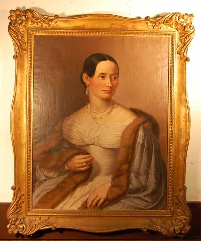 21: Jac Ginzel Oil on Canvas Portrait