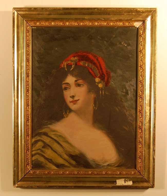 25: Oil on Canvas Portrait