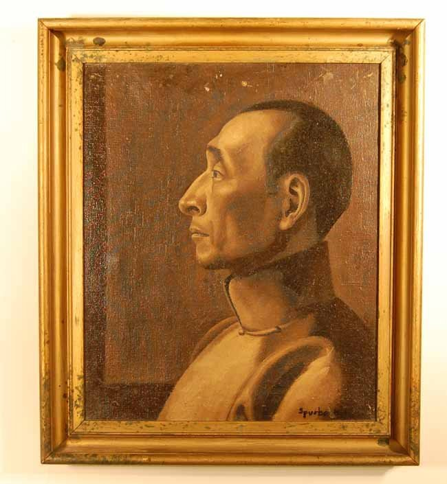 26: Spurbock Oil on Canvas