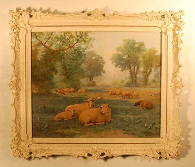 30: Wilson Marlatt (1837-1911) Watercolor
