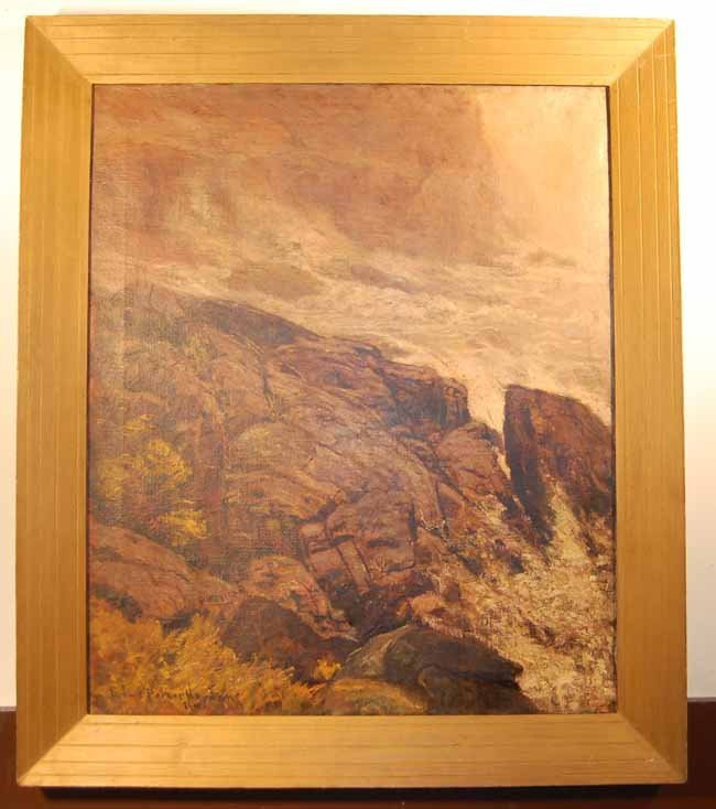 35: Edward Parker Hayden Oil on Canvas