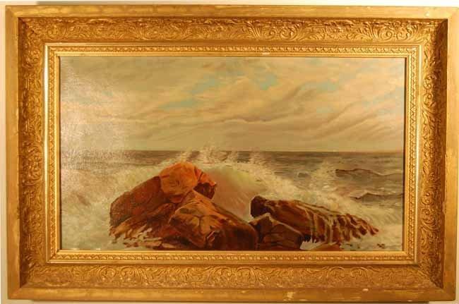 36: C E Lane Oil on Canvas