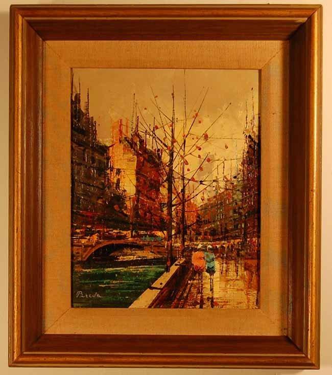 37: Breda Oil on Canvas