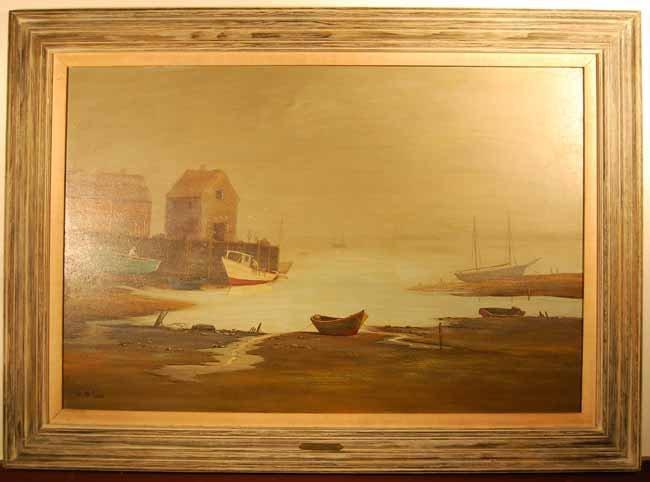 39: Val McGann Oil on Board