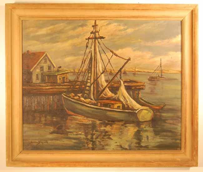 41: Lorena B Lynch Oil on Artist Board
