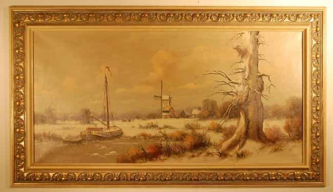 42: Anton Muller (1874-1912) Oil on Canvas