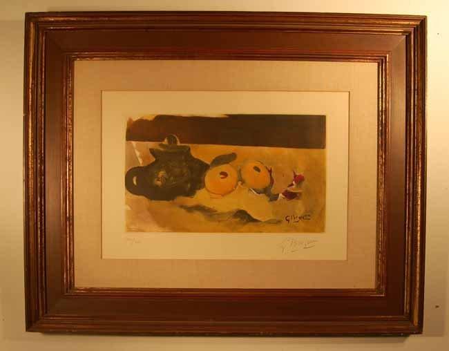 57: George Braque Lithograph