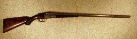 Antique Parker Double Barrell 12 Gauge Shot Gun