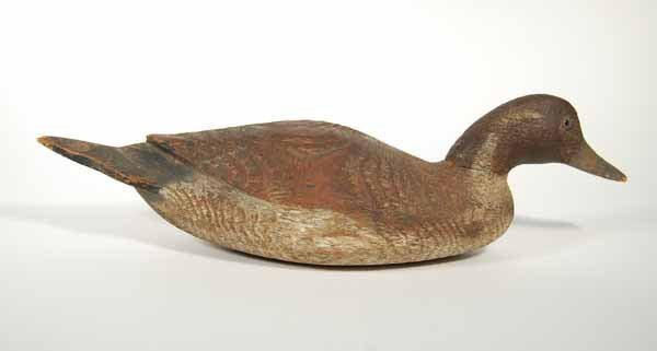 10: Northeast Hollow Drake Pintail Decoy