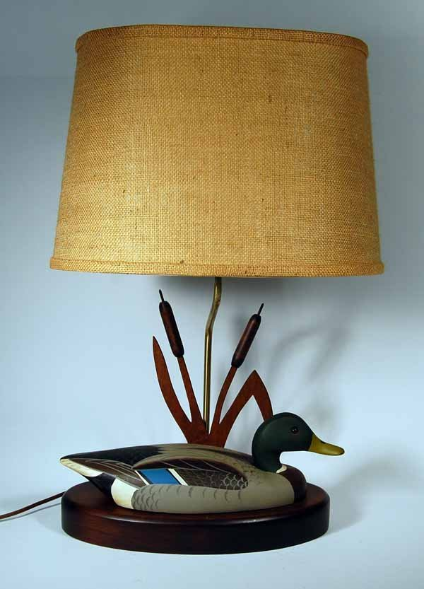 17: L.L. Bean Mallard Decoy Lamp