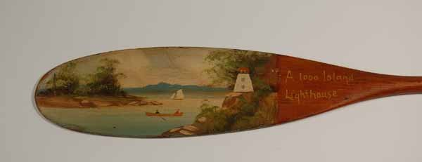 "18: Keech Paddle ""A 1000 Island Lighthouse"""