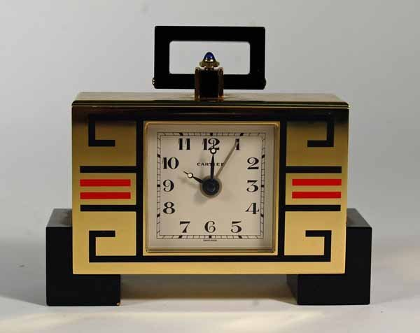 88: Cartier Paris (Serial #00326) Art Deco Style Clock