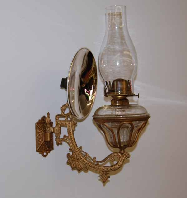 436: Beehive Wall Mount Oil Lamp