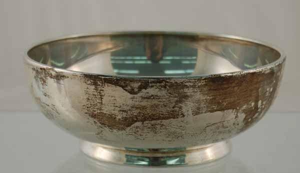 "3: Sterling Silver 7"" Diameter Bowl"