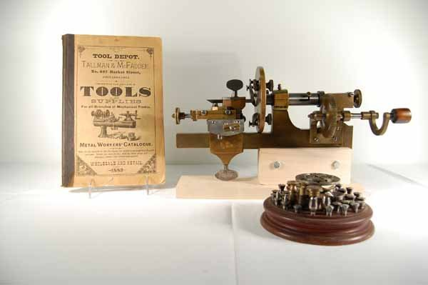 Brass Watchmaker's / Jewelers Lathe