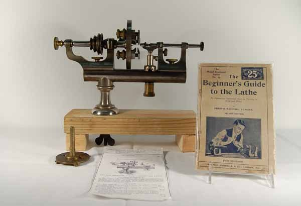 Watchmaker's Lathe Made of Steel & Brass