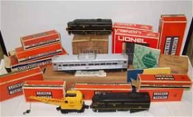 Lionel Train Locomotives and Accessories
