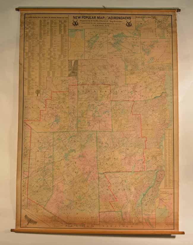 1902 Adirondack Map