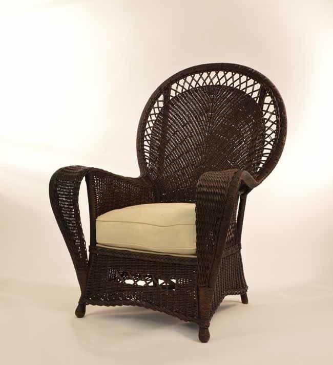 1920's Fan Back Arm Chair