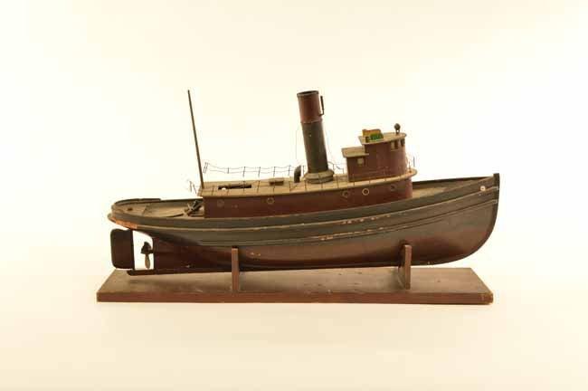 H.E. Boucher Model Steam Boat ca 1920's
