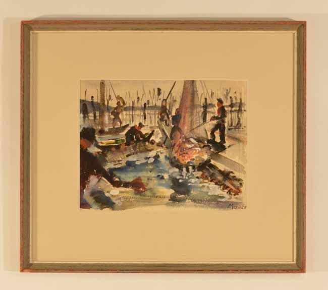 John Marin (American 1875-1953) 1928 Watercolor