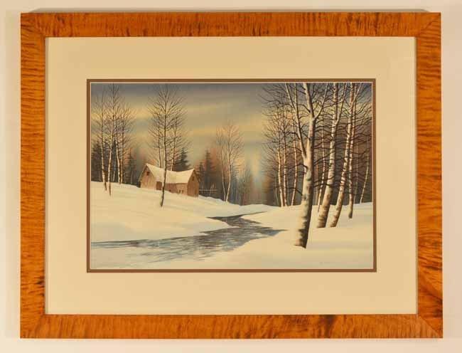Robert Plumb Watercolor
