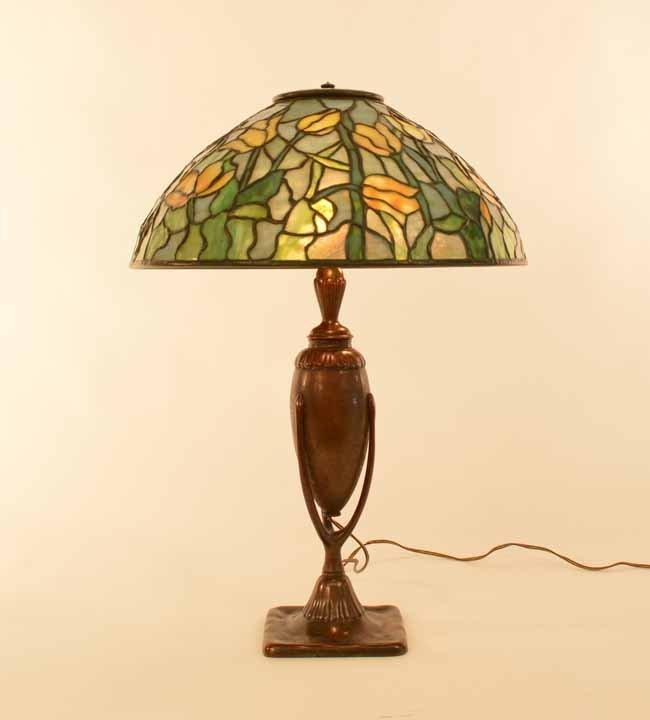 Tiffany Studios 16 inch Tulip Table Lamp