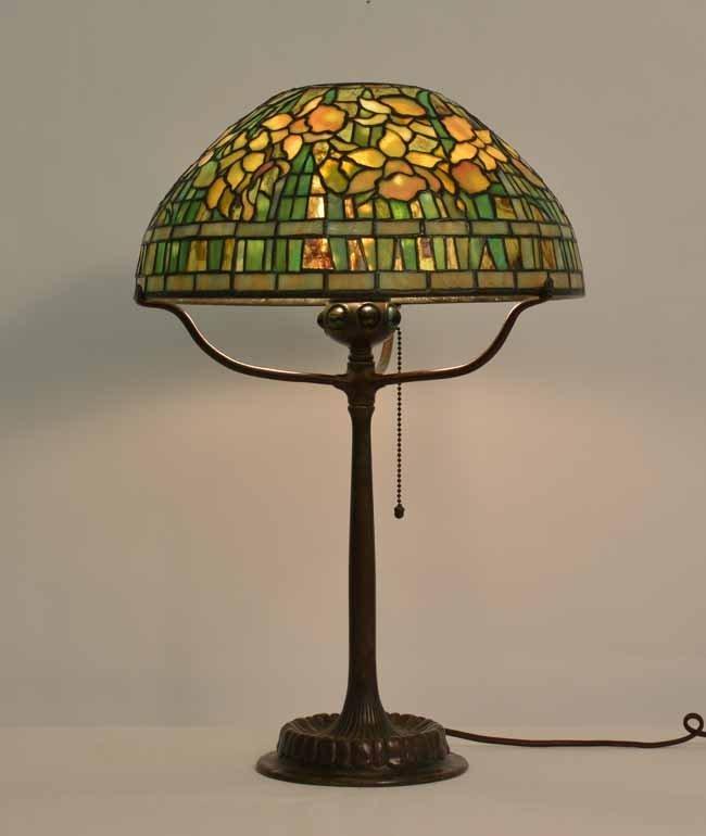 Tiffany Studios 14 inch Daffodil Table Lamp