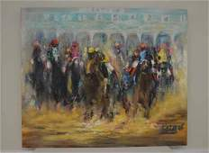 Patrish Saratoga Oil on Canvas Painting