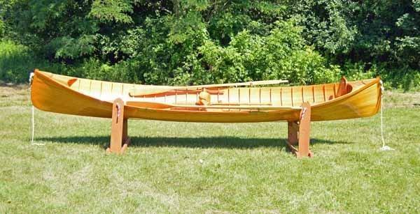 Adirondack Guide boat made by Tony Dupree