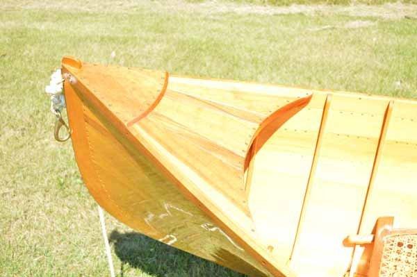 Adirondack Guide boat made by Tony Dupree - 4