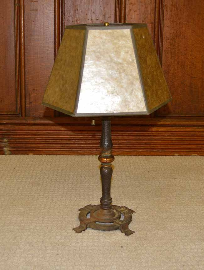 Table Lamp with Mica Shade