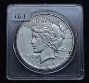 1935S US Peace Silver Dollar