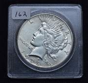 1935 US Peace Silver Dollar