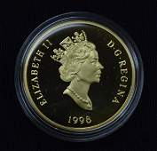 1998 Canadian 100 Gold Proof Coin  14kt
