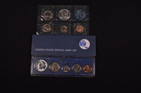 Three U.s. Special Mint Sets (1965, 1966, 1967)